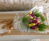 Tulips Hand Bouquet HB638