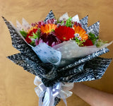 Mixed Flowers Hand Bouquet HB627