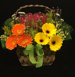 Flower Gift Basket FG409