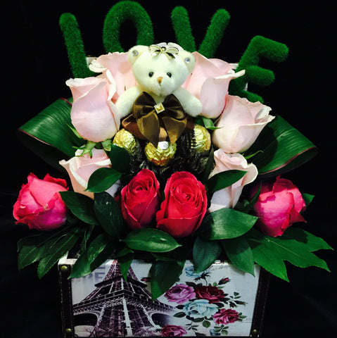 Gift Flower Box GB215