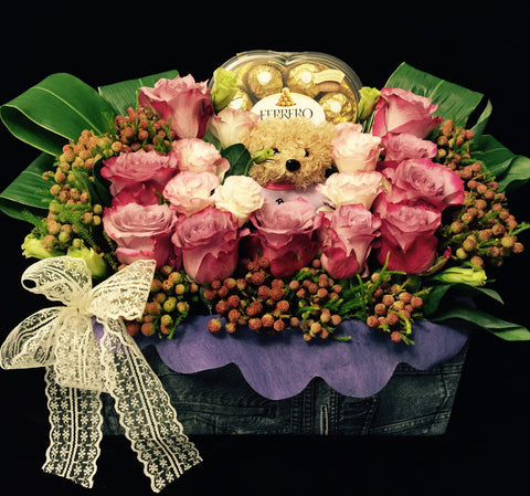 Gift Flower Box GB216