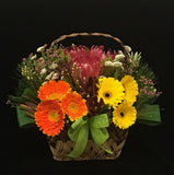 Flower Gift Basket | Florist Singapore | Flower Table Arrangement | Flower Centrepieces