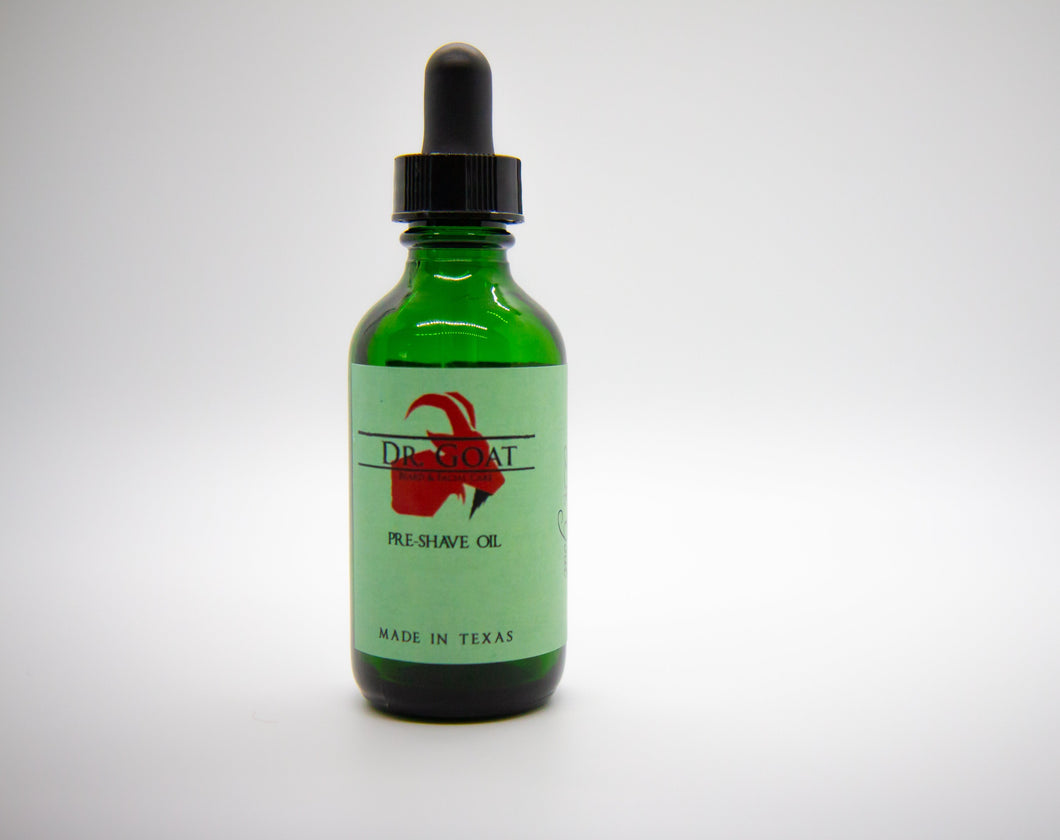 Pre-Shave Oil - Dr. Goat Beard & Facial Care