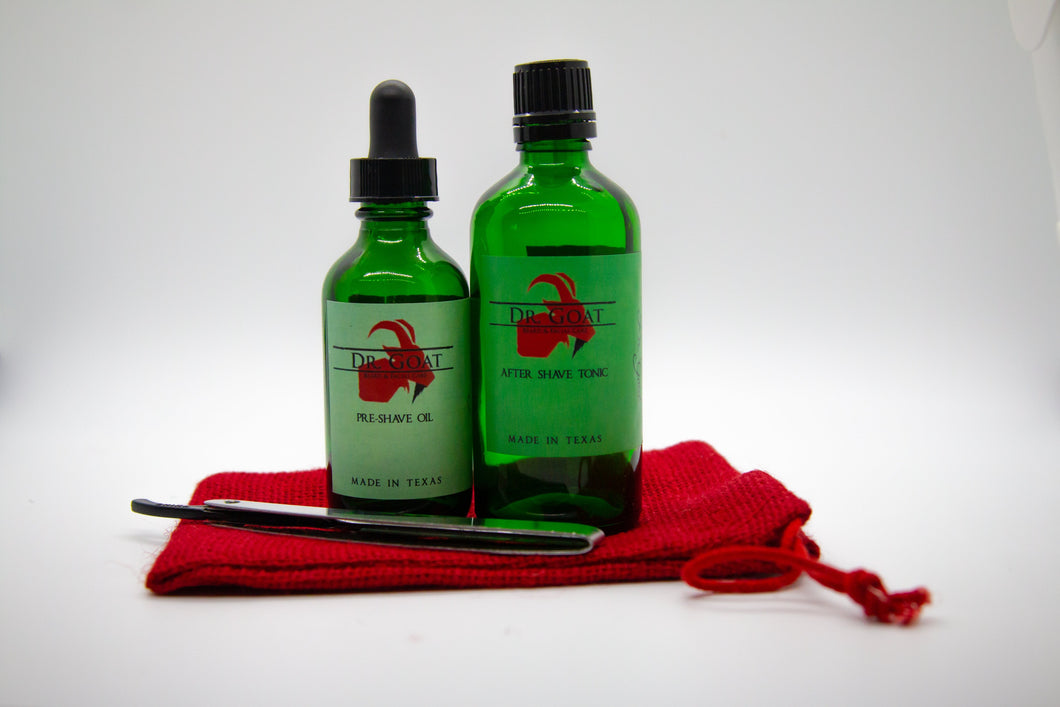 Shaving Set - Dr. Goat Beard & Facial Care
