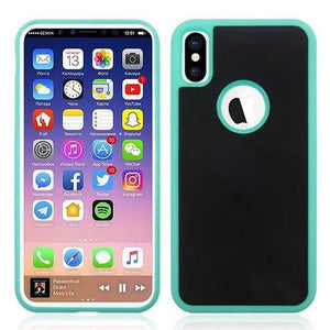 Coque Anti-Gravité Pour iPhone - iPhone X / Vert - iPhone Cases