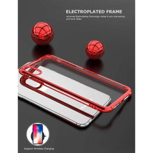 Charger l'image dans la galerie, Coque de luxe en chrome transparent haute protection pour iPhone