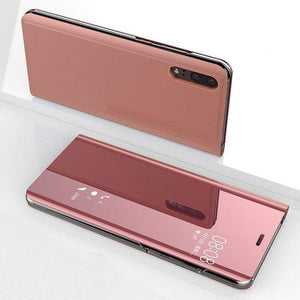 Coque Étui Smart View Pour Huawei - P20 / Rose - Fitted Cases