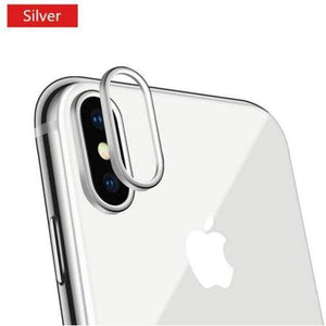 Protecteur Camera iPhone Haute Qualité - iPhone XS Max / Argent
