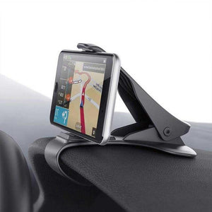 CLIP AND GO : Support de téléphone réglable - Noir - Mobile Phone Holders & Stands