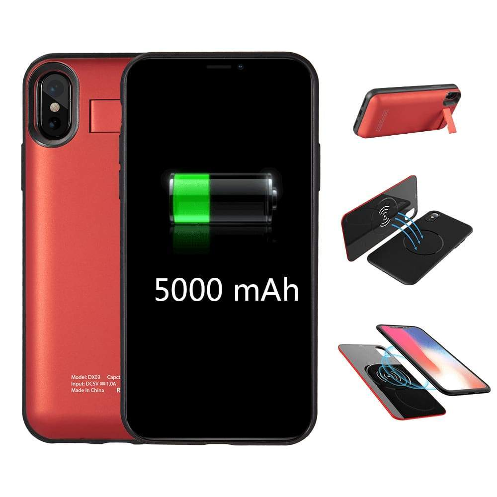 2 en 1 Coque + Batterie Externe Puissante Rechargeable Power Bank !!