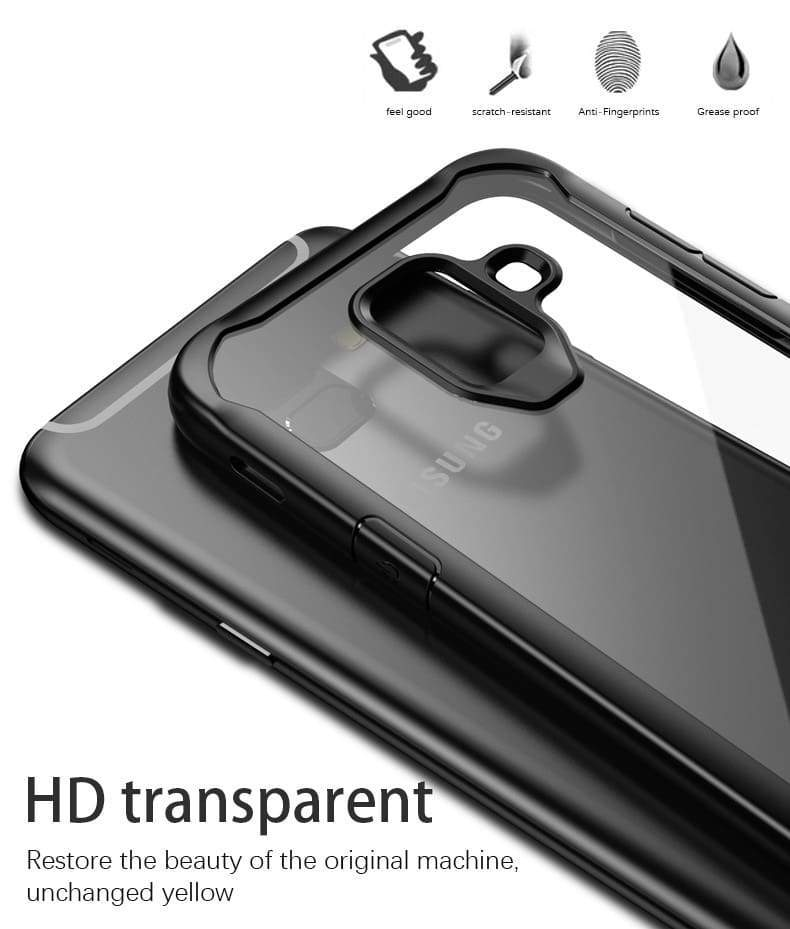 LUPHIE Case for Samsung S9 S8 Plus Note 8 Shockproof Transparent Back Cover Ultra thin Soft TPU Shell(6)