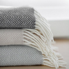 SHOP Indulgently soft, Tasmanian Wool Throws. Ready for the winter nights.