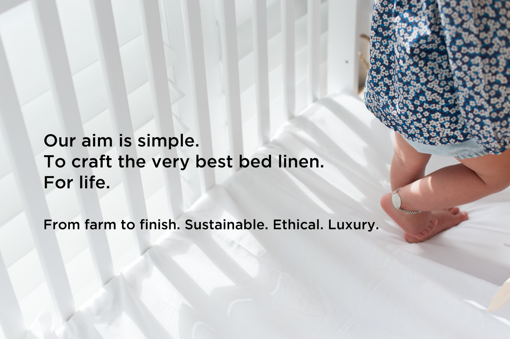 organic bed linen our story