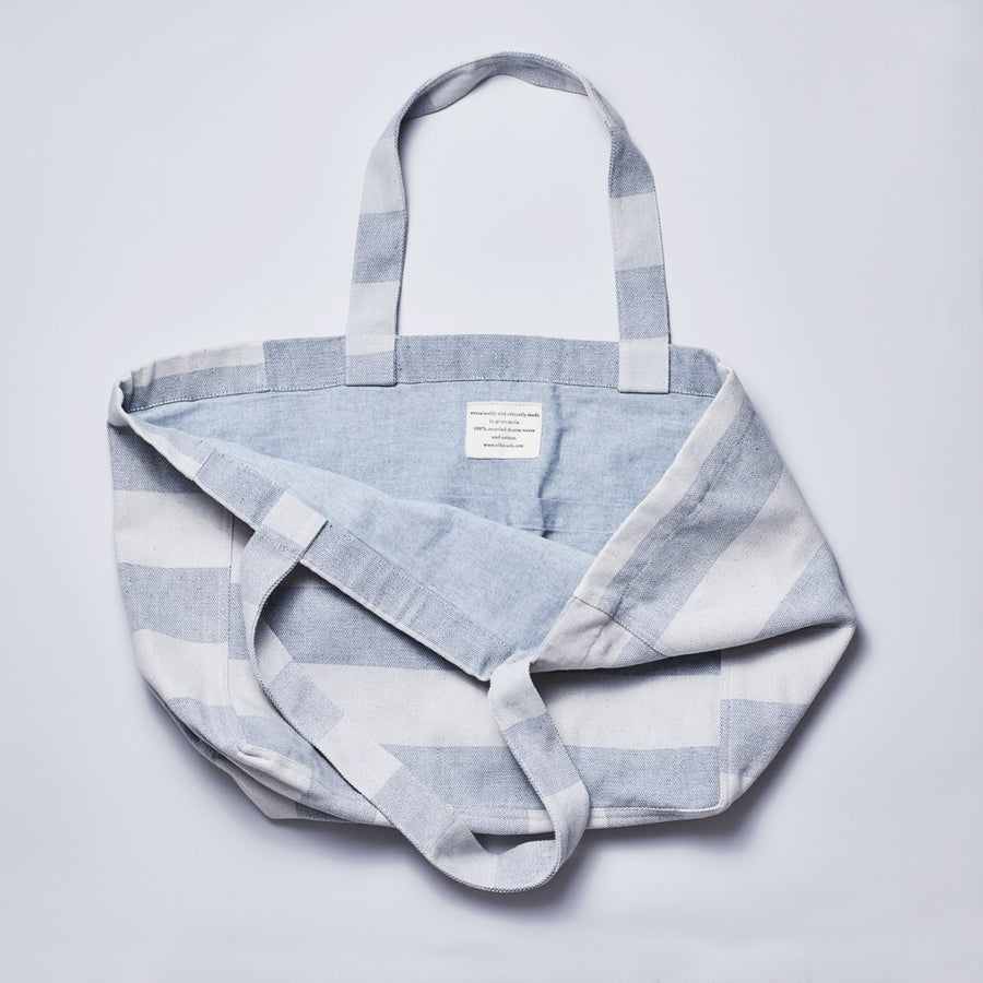 Oversized Recycled Denim Market Tote