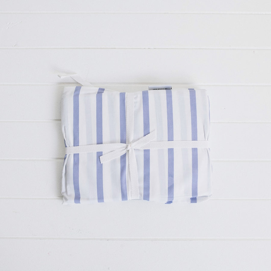 Organic Cotton Cot Sheets in Stripe
