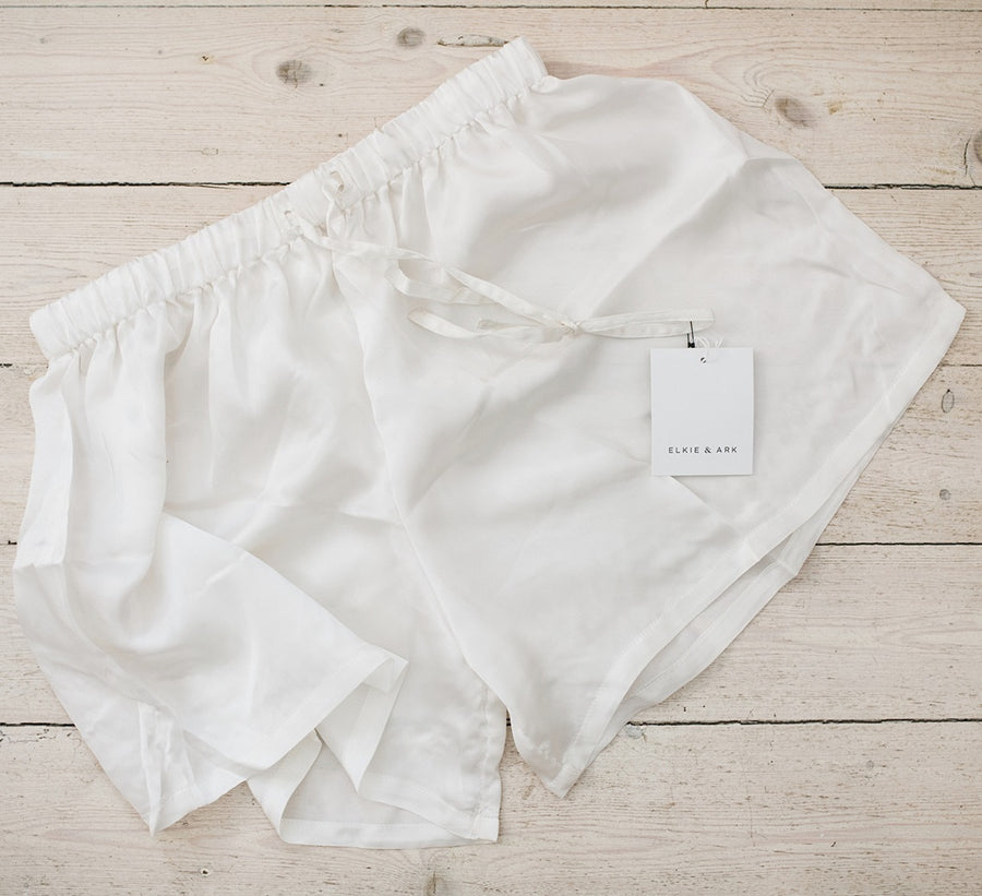 Pure Peace Silk Pyjama Shorts