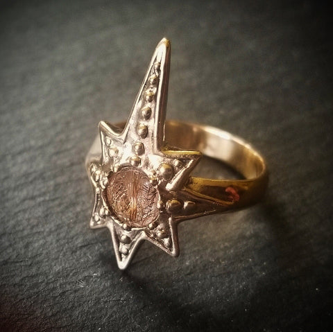 Bronze Prettiest Star ring