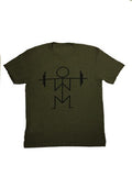 Military Green Squat Tee