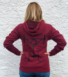 Cardinal Red Unisex Snatch Hoodie