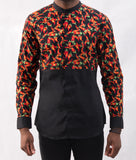 Spicy Patterned Shirt - Omenka