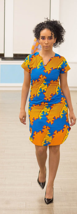Ankara Dress - Omenka