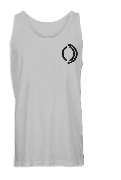 White Omenka logo Women V-neck