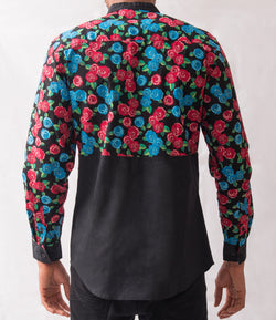 Rose Patterned Shirt - Omenka