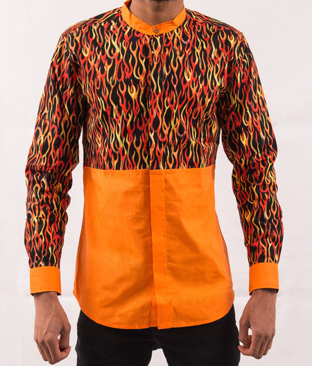 Basketball Patterned Shirt
