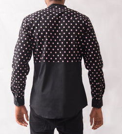 Polka Dot Patterned Shirt - Omenka