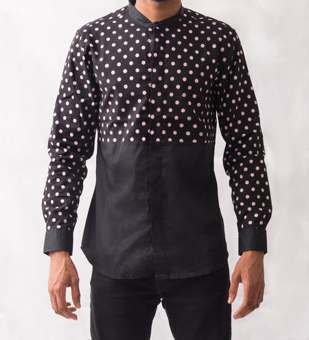 Lattice Patterned Shirt