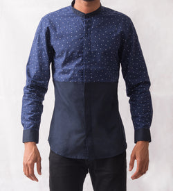 Dot Patterned Shirt - Omenka