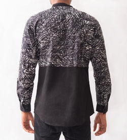 Abstract Patterned Shirt - Omenka