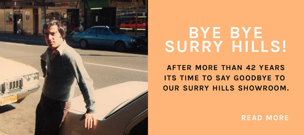 Bye Bye Surry Hills Showroom!