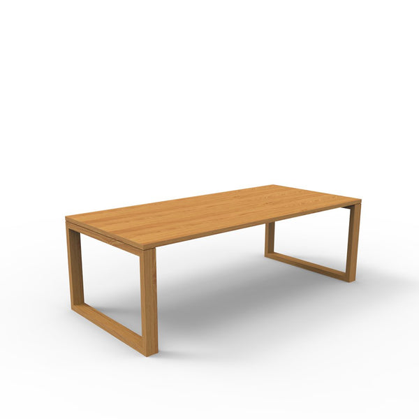 Tribeca Dining Table with Flushed Legs