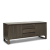 FLOOR STOCK SALE - Tribeca 2 Door, 3 Drawer Tasmanian Oak (Charcoal) Sideboard