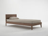 Vintage Bed - Dellis Furniture King Single / Teak - 1