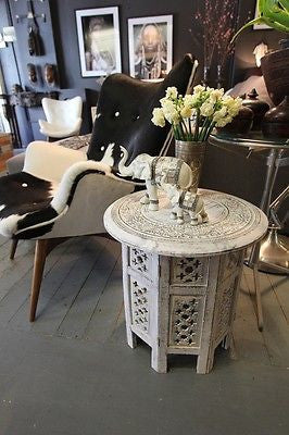 Moroccan Side Table - Dellis Furniture  - 1