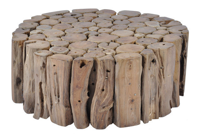 Tropica Big Round Coffee Table - Dellis Furniture