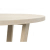 Round Cross Leg Dining Table - Dellis Furniture  - 4
