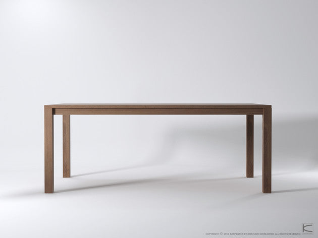 Solid Dining Table - Dellis Furniture Teak - 3