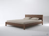 Solid Bed - Dellis Furniture Queen / Teak - 4