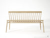 Twist Bench - Dellis Furniture Oak - 2