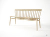 Twist Bench - Dellis Furniture  - 1