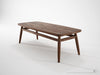 Twist Coffee Table - Dellis Furniture 120 x 50 x 38 / Teak - 6
