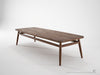 Twist Coffee Table - Dellis Furniture 160 x 60 x 38 / Walnut - 7