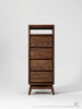 Twist Tallboy - Dellis Furniture Walnut - 3