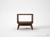 Twist Side Table - Dellis Furniture Walnut - 3
