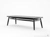 Twist Coffee Table - Dellis Furniture 160 x 60 x 38 / Black Stained Eu Oak - 10