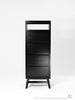 Twist Tallboy - Dellis Furniture Black Stained Eu Oak - 4