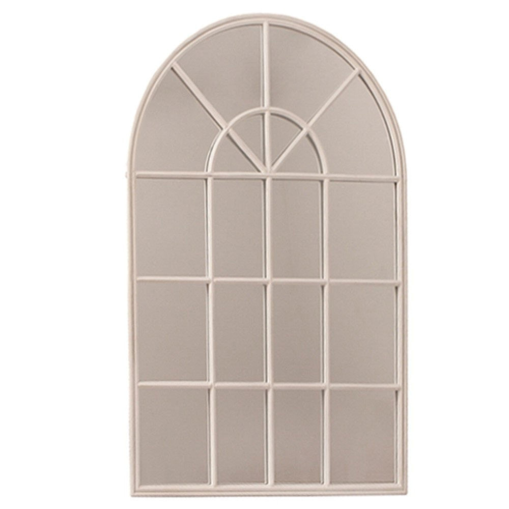 Antique Iron Arched Mirror - Dellis Furniture Cream - 2